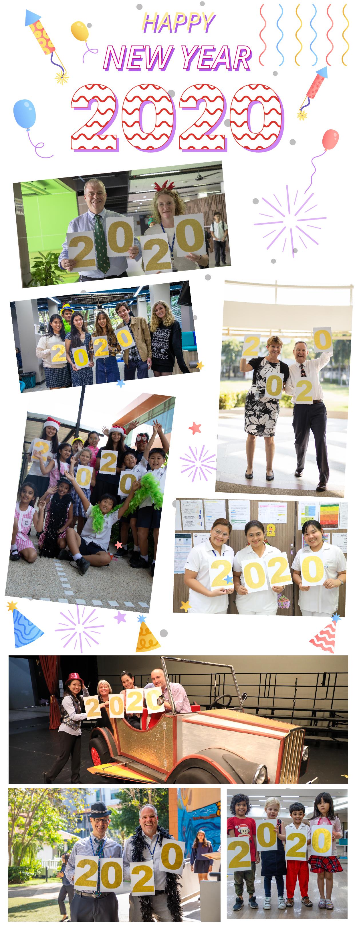 Happy New Year from Bangkok Patana school!