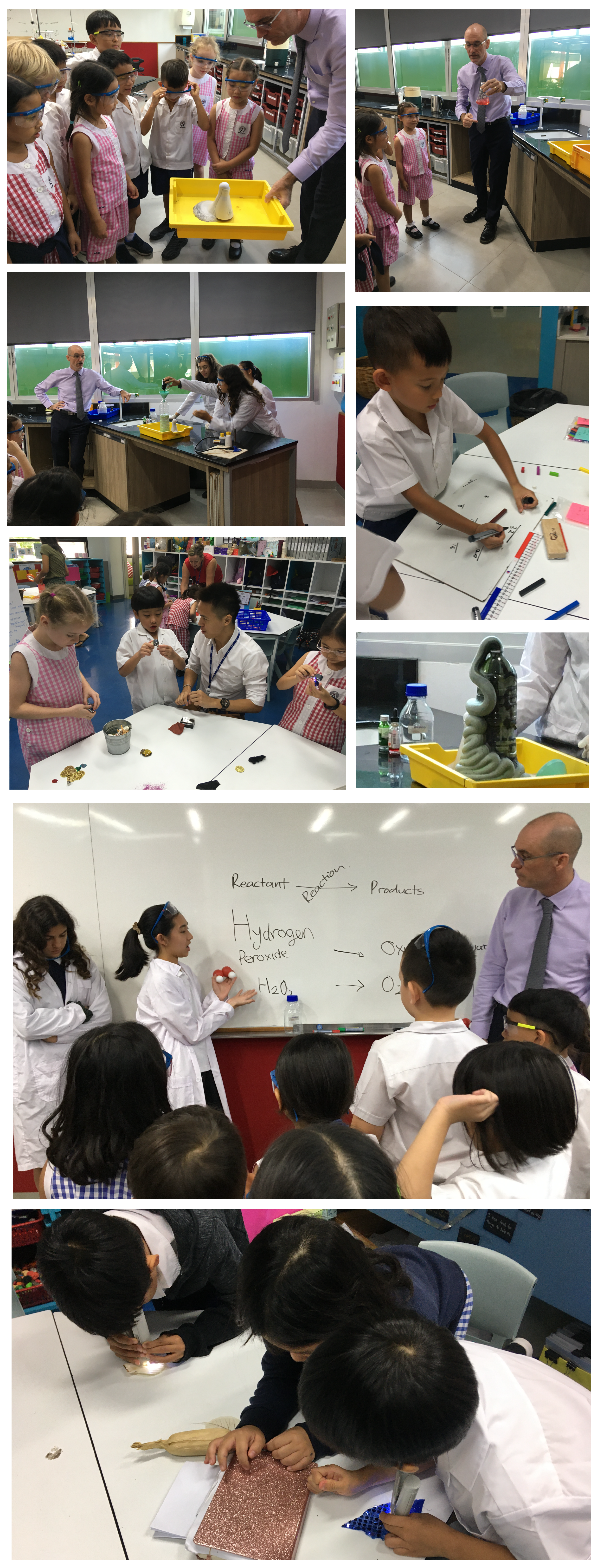 Year 2 Visits Secondary science
