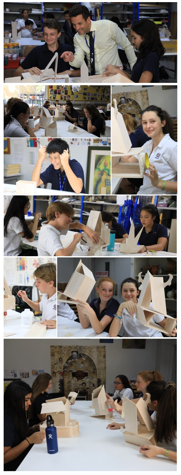 Year 9 go back to the future in art