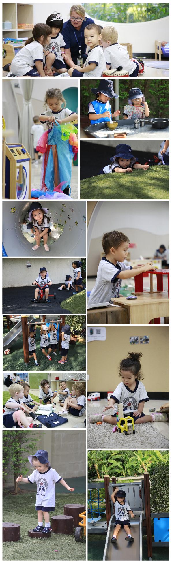 Exploring the world in Nursery