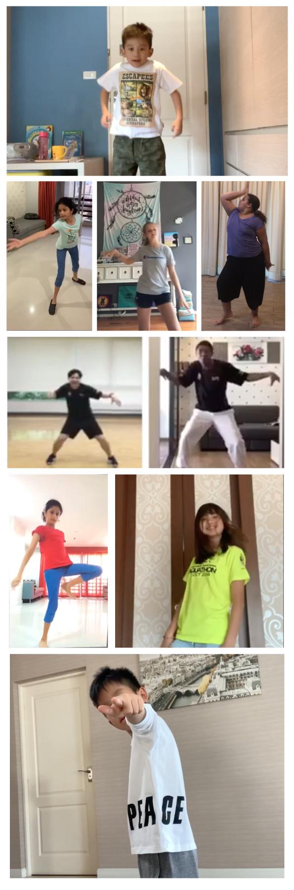 Dance Academy hip hop challenge
